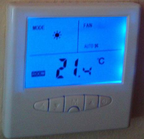 Табло за автоматичен контрол на подово отопление + конвектори
