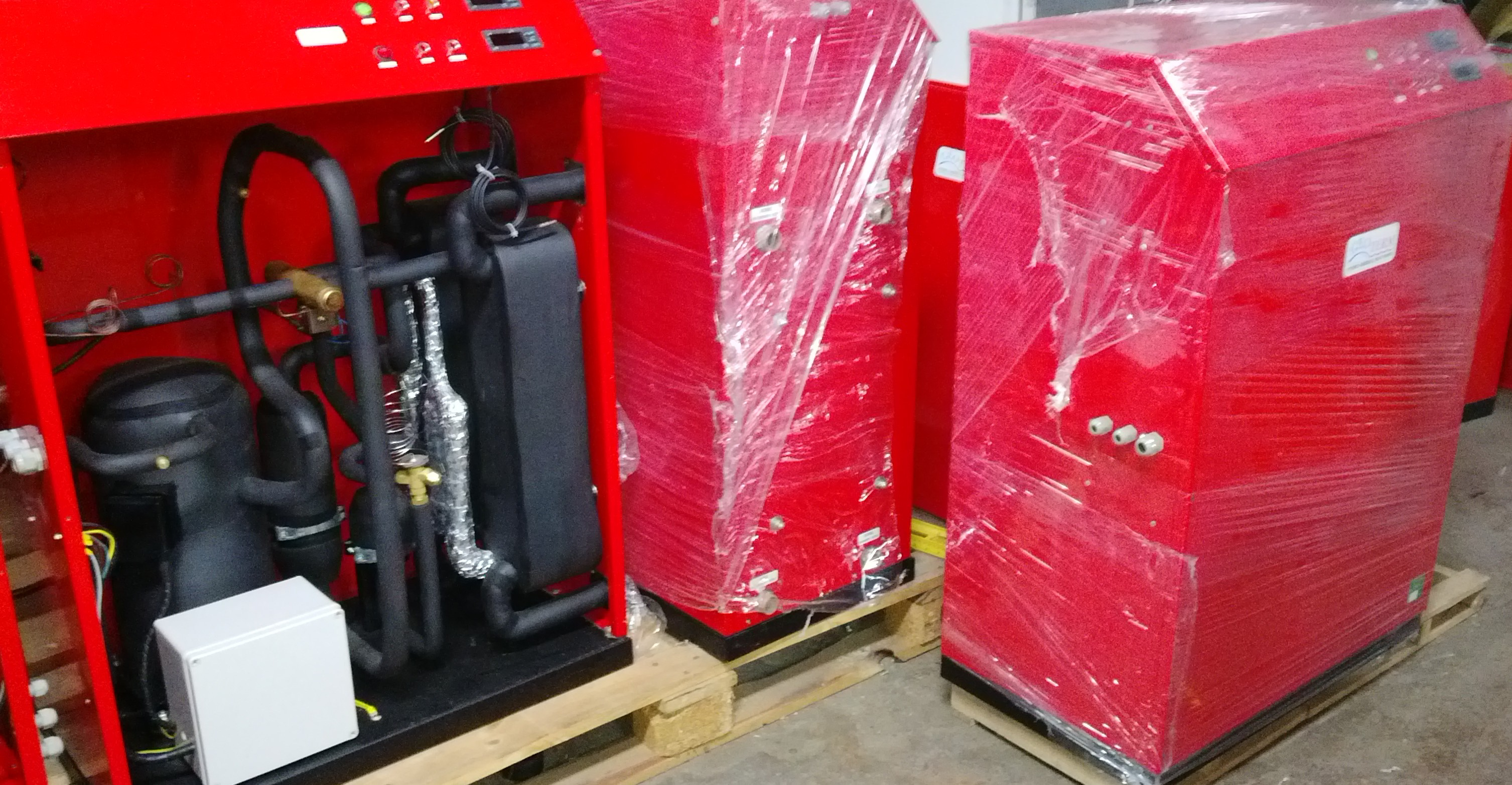 Хидро-термални агрегати готови и в процес на изработка