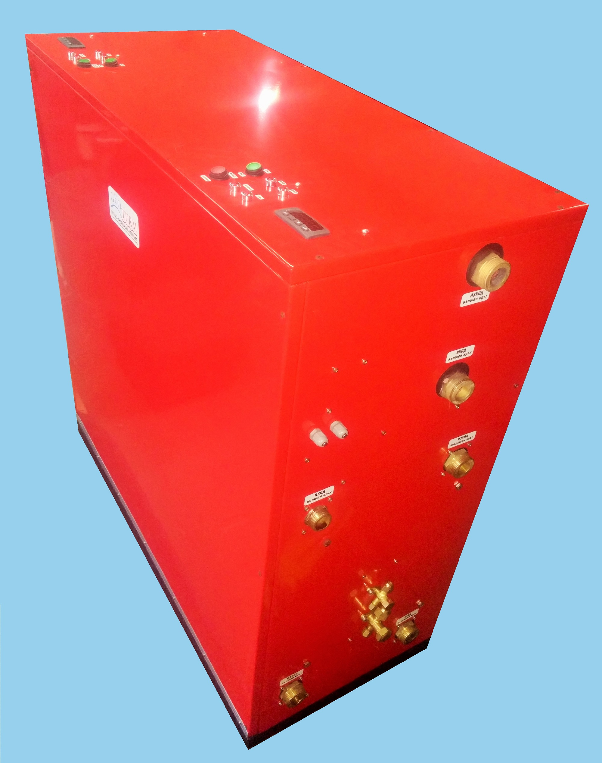 Фреоно-реверсивен комбиниран агрегат с независима битова гореща вода