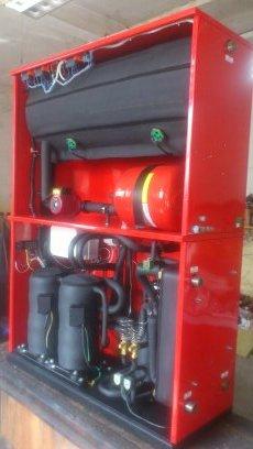 Термопомпа вода вода 40 кв